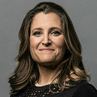 The Honourable Chrystia Freeland